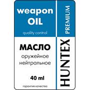 Масло оружейное нейтральное «HUNTEX premium» (40 мл)