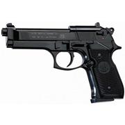 Пистолет Beretta M92 FS (черный, черные пластиковые накладки)