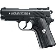 Пистолет Colt Defender (черный, черные накладки)