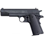 Пистолет Colt Government 1911 A1 (черный, черные пластиковые накладки)