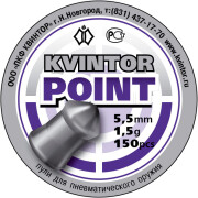 "(Русский) Пули Kvintor ""Point"" (150 шт.) 5,5 мм"